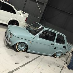 (notitle) – 岩渕俊 – Join in the world Fiat 126, Custom Wheels, Custom Cars, Retro Cars, Vintage Cars, Microcar, Fiat Cars, Garage, Mustang Cars