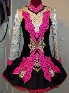 KDSF Irish Dance Solo Dress Costume LOVE this