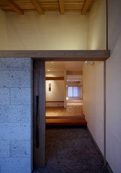 entrance, 土間