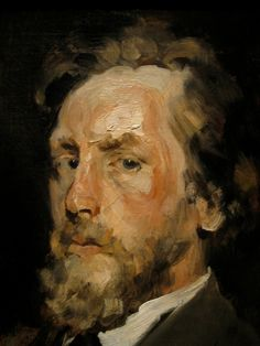 William Merritt Chase: Portrait of a Man. RePinned from Christopher Cook