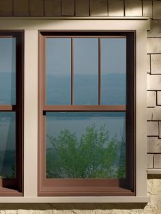 Window Color Trim And Siding Would The Brown Part Look Good In