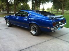 1969 FORD MUSTANG MACH 1 428 SCJ Maintenance of old vehicles: the material for new cogs/casters/gears could be cast polyamide which I (Cast polyamide) can produce Ford Mustang 1969, Ford Mustangs, Mustang Cars, Car Ford, Ford Trucks, Blue Mustang, 1969 Mustang Fastback, Classic Mustang, Ford Classic Cars