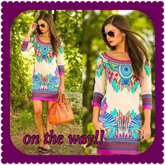 Adorable chic dress is on the way!!