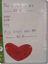 Art Grinch first-grade-ideas