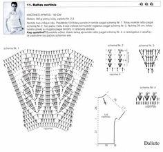 Crochetemoda: Blusas Brancas de Crochet
