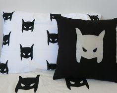 Superhero cushion by AliJoyKids on Etsy