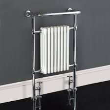 Phoenix York Traditional Towel Radiator / Bathroom Heater 925 x Bathroom Towel Radiators, Home Radiators, Bathroom Heater, Traditional Towel Radiator, Traditional Radiators, Traditional Bathroom, White Towel Rail, Small Kitchen Sink, Shower Fittings