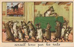 Conseil tenu par les rats