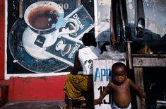 Alex Webb 04 Ivory Coast. Abidjan. Street scene in Treichville