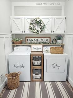 ☛☀ Functional And Stylish Laundry Room Design Ideas To Inspire (Make You. ☛☀ Functional And Stylish Laundry Room Design Ideas To Inspire (Make You Love it 39 Tiny Laundry Rooms, Laundry Room Wall Decor, Laundry Room Remodel, Laundry Room Organization, Laundry Room Design, Laundry Room Shelving, Laundry Organizer, Laundry Room Colors, Laundry Room Cabinets