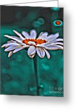 A Flower For You Greeting Card by Scott Hervieux