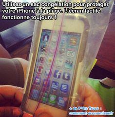 La Housse de Protéction iPhone Qu'il Vous Faut Pour la Plage.