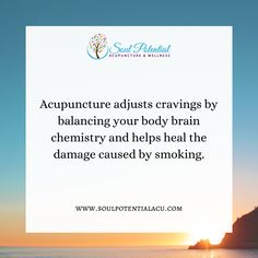 Acupuncture, Chemistry, Cravings, Healing, Wellness