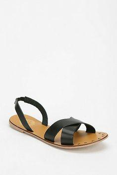 Ecote Crisscross Slip-On Sandal