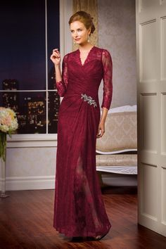 15 Stunning Marsala Dresses for the MOB 01