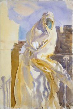 John Singer Sargent, Arab Woman, 1905-06