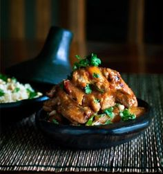 Chicken, Apricot and Rosemary Tagine
