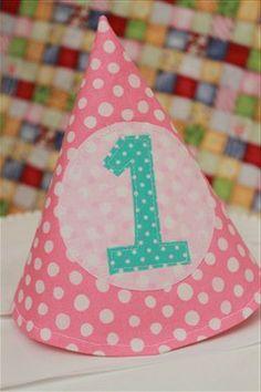 Birthday Hat Tutorial