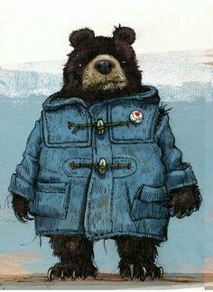 Фрея смеялась, когда наряжала Бурана в одежду конюха - медведь был очень потешный и всё норовил выбраться из одежды