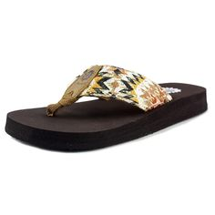 """Yellow Box Women's Kaden Tan Sandal 8.5 M. The style name is Kaden. The style number is 25424-TAN. Brand Color: Tan (Main Color: Beige). Material: Synthetic. Measurements: 1"""" heel. Width: B(M)."""