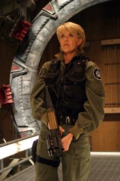 Amanda Tapping (Samantha Carter dans Stargate)