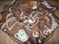 Oblíbená pochoutka - palačinky. Pokud do těsta přidáte kakao, na pánvi vytvoříte neodolatelnou palačinku.