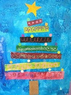 (notitle) - arts and crafts - noel Preschool Christmas, Christmas Activities, Christmas Time, Christmas Art Projects, Christmas Crafts, Christmas Decorations, Art For Kids, Crafts For Kids, Theme Noel