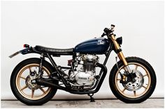 This may be the final straw to convince me to take on building a cafe racer this summer. The simplicity and function of the design are what the connection between man and machine is all about.