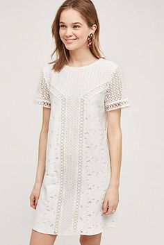 4fc4272ff8 How cute is this LWD (little white dress)  Anthropologie s Honorine Tunic  Dress might just be my favorite frock of the season. With summer coming in  full ...
