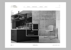 """Check out my @Behance project: """"Galeria Casabo web"""" https://www.behance.net/gallery/55521527/Galeria-Casabo-web"""