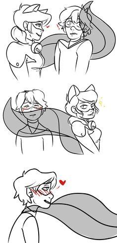 (Kwami-SwapAU!Miraculous: Tales of Ladybug and Cat Noir) Ladybug/Cat Noir