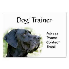 Professional dog trainer business card pinterest business cards professional dog trainer business card pinterest business cards business and dog colourmoves