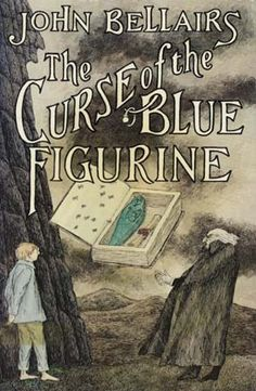The Curse of the Blue Figurine. - this series contains the exploits of Johnny Dixon and his eccentric partner Professor Roderick Childermass. Great gothic, suspense without being gross or too gory. Book Writer, Book Authors, Book Nerd, Up Book, Love Book, Edward Gorey Books, Children's Literature, Children's Book Illustration, Book Covers