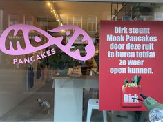 Pancake Place, Twitter Sign Up, Amsterdam, Window, Neon Signs, Restaurant, Chain, Day, Kitchen