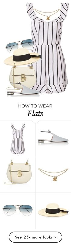 """""""Chanel x Chloe"""" by muddychip-797 on Polyvore featuring Victoria Beckham, Exclusive for Intermix, G.Viteri, Chloé, Barneys New York, Chanel, vacation, chloe, fashionset and exploring"""