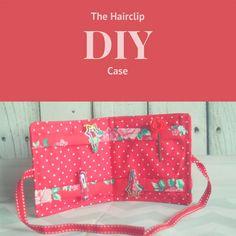 Hair clip Case tutorial. Love this idea!