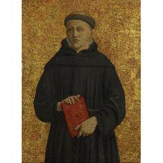 Piero della Francesca - An Augustinian Friar (Saint Leonard?) : The Frick Collection