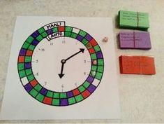 Kellonaikapeli Math Clock, Hvac Design, English Time, 33rd Birthday, Mathematics, Teaching, Education, School, Life