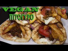 Συνταγή για Πιτόγυρο Vegan - Μυρίζει Αγάπη - YouTube Vegetarian Recipes, Tacos, Mexican, Sweets, Vegan, Ethnic Recipes, Youtube, Foods, Food Food