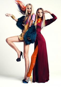 AVANT-GARDE I love to dress up like this. Fashion is a wonderful playground #Editorial