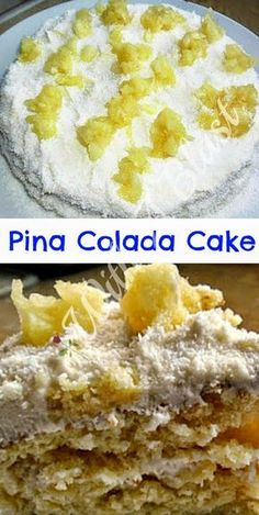 Summer Dessert ! Delicious tropical cake with Pineapple and Cream Cheese Frosting