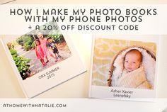 How I make my PHOTO BOOKS-Great Christmas presents! ATHOMEWITHNATALIE1