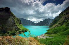 Mt.Pinatubo. Zambales, Philippines