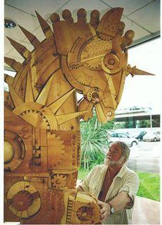 #FerdinandoCodognotto  #Carved #Wood #Horse #Sculpture  www.FerdinandoCodognotto.com