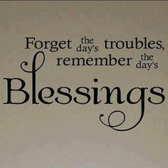 counting your blessings makes you feel rich