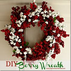 DIY Berry Wreath fro