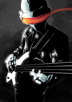 Daft Punk - Matt Taylor Illustration