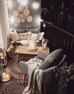 fall decor ideas for the home 17 Modern Decoration Appartement Ideas You Will Fall In Love Apartment Balcony Decorating, Apartment Balconies, Apartment Ideas, Apartment Porch, Cosy Apartment, Green Apartment, Zen Bedroom Decor, Living Room Decor, Home Decor
