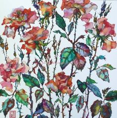 spiky Roses Sofia Perina-Miller