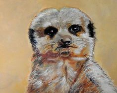 Buy Meerkat, Acrylic painting by Julie Hollis on Artfinder. Discover thousands of other original paintings, prints, sculptures and photography from independent artists. Acrylic Painting Canvas, Canvas Art Prints, Internet Art, Quirky Art, Bird Artwork, Buy Art Online, Art Background, Paintings For Sale, Original Paintings